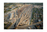 Corwith Intermodal Rail Yard Chicago Photographic Print by Steve Gadomski