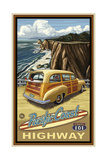 Pacific Coast Highway Woody Pal 063 Photographic Print by Paul A Lanquist