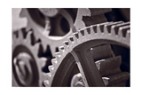 Gears Number 3 Photographic Print by Steve Gadomski
