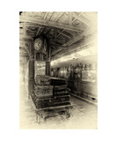 Old Station Photographic Print by J A Evans