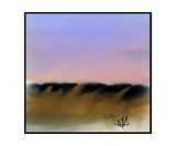 Dune Shadows A A 1 Photographic Print by Diane Strain
