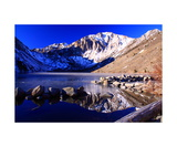 Convict Lake In Winter Photographic Print by Ronald A Dahlquist