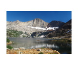 Florence Peak And Lower Franklin Lake Photographic Print by Ronald A Dahlquist