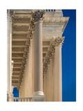 US Capitol Columns Photographic Print by Steve Gadomski