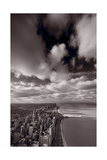 Chicago Aloft BW Photographic Print by Steve Gadomski