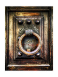 Renaissance Door Knocker in Florence Photographic Print by George Oze