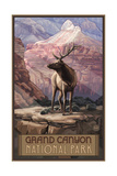 Grand Canyon Elk Pal 381 Photographic Print by Paul A Lanquist