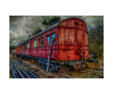 Old Carriage Photographic Print by J A Evans