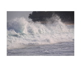 Breaking Wave, Haena State Park, Kauai Photographic Print by Ronald A Dahlquist