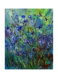 Cornflowers Giclee Print by  Ledent