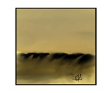Dune Shadows A A 9 Photographic Print by Diane Strain