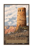 Grand Canyon Tower Pal 1512 Photographic Print by Paul A Lanquist