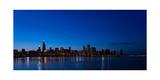 Chicago Night Photographic Print by Steve Gadomski