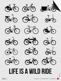 Life is a Wild Ride Poster I Kunstdrucke von  NaxArt