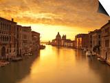 Santa Maria Della Salute, Grand Canal, Venice, Italy Posters by Jon Arnold