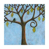 Blue Tree of Life Photographic Print by Blenda Tyvoll