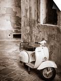 Italy, Apulia, Lecce District, Salentine Peninsula, Salento, Lecce, Vespa Scooter Prints by Francesco Iacobelli