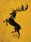 Game of Thrones - Baratheon Prints