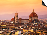 Italy, Florence, Tuscany, Western Europe, 'Duomo' Designed by Famed Italian Architect Brunelleschi, Prints by Ken Scicluna