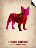 French Bulldog Poster Prints by  NaxArt