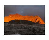 Alpenglow On Kaweah Queen, Sequoia National Park Photographic Print by Ronald A Dahlquist