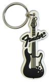 Fender - Stratocaster Rubber Keychain Keychain