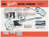Fender - Electric Standard Masterprint