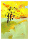Autumn Trio Prints by Paul Bailey