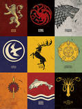 Game of Thrones - Sigils Kunstdrucke