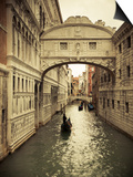 Bridge of Sighs, Doge's Palace, Venice, Italy Posters by Jon Arnold