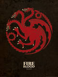 Game of Thrones - Targaryen Prints