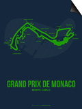 Monaco Grand Prix 2 Prints by  NaxArt