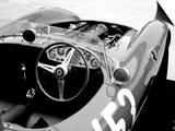 Ferrari Cockpit Print by  NaxArt