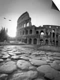 Colosseum and Via Sacra, Rome, Italy Prints by Michele Falzone