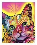 Tilt Cat Plakater af Dean Russo