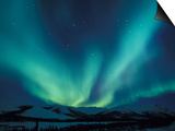 Northern Lights, Endicott Mountains in the Brooks Range, Alaska Prints by Hugh Rose