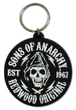 Sons of Anarchy - Redwood Original Rubber Keychain Keychain