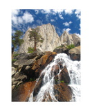 Angel Wings And Waterfall, Sequoia National Park Photographic Print by Ronald A Dahlquist