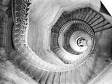 Traboule Staircase, Lyon, France Poster by Walter Bibikow