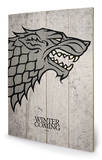 Game of Thrones - Stark Wood Sign Wood Sign