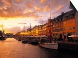 Nyhavn Harbour, Copenhagen, Denmark Prints by Jon Arnold