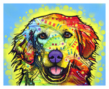 Golden Retriever Prints by Dean Russo