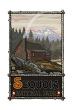 Sequoia National Park Summer Mountain Cabin 1212 Photographic Print by Paul A Lanquist