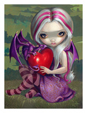 Valentine Dragon Posters by Jasmine Becket-Griffith