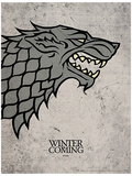 Game of Thrones - Stark Affiche originale