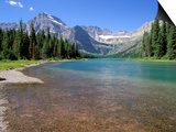Lake Josephine with Grinnell Glacier and the Continental Divide, Glacier National Park, Montana Prints by Jamie & Judy Wild