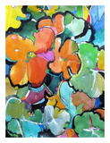 Nasturtiums Prints by Emily Weil