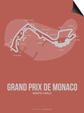 Monaco Grand Prix 1 Poster by  NaxArt