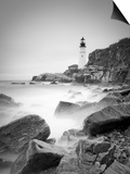 Maine, Portland, Portland Head Lighthouse, USA Print by Alan Copson