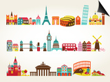 Travel And Tourism Locations Prints by  Marish